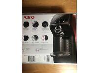 Lavazza AEG brand new coffee machine - black