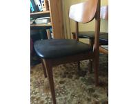 Scandi style dining chairs