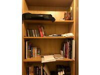 6 Shelf bookcase and storage unit in Oak
