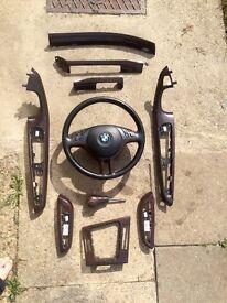 BMW e46 convertible interior trim