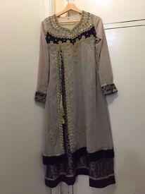 Indian/ Pakistani style trouser dress Ready made