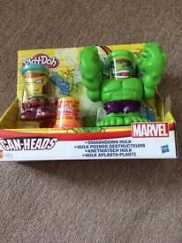 New playdough smackdown hulk playset