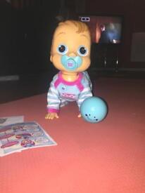 Baby Wow Crawling Baby Boy Doll