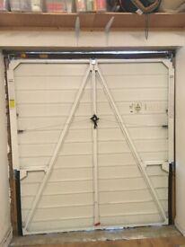 Garage door, up and over