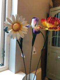 🎄🛍💐 Lovely metal flowers