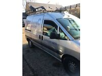 Pegeout expert 56 plate van with water fed pole system