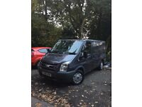 Very rare top of the range ford transit lx in the best colour ever made met grey stunning van