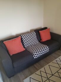 Charcoal Sofa - reason for selling moving house