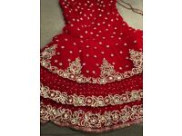 Indian Asian Bridal Outfit Wedding/Reception - Lengha