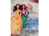 3 princess reversable dressers