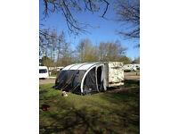 Leisurewize Ontario 390 Lightweight Caravan Porch Awning