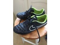 Nike Tiempo football boots size 6