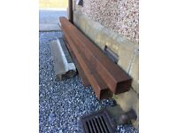 boxed steel, concrete window sill, steel safety boots, golf clubs, Italian tiles