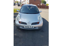 Nissan Micra hatchback petrol Automatic 5drs Silver!