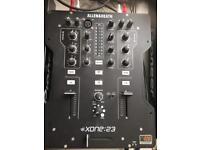 Xone 23 mixer