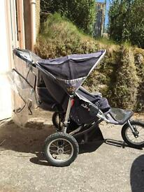 Out n About 360 Double Pushchair