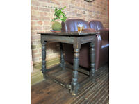 Antique Rustic Side Table / Cottage/ End Table