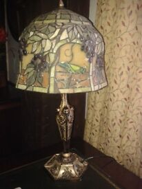 2 x tiffany style table lamps