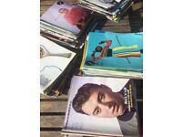 130 Guardian Weekend Magazines.