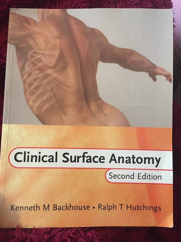 Clinical Surface Anatomy | in West End, Glasgow | Gumtree