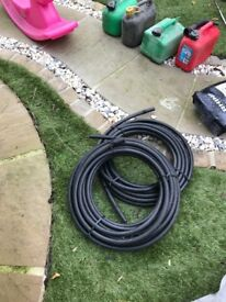 2x coils irrigation pipes and fixtures for sprinkler systems