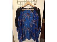 Matalan floral kimono top size 18 worn once