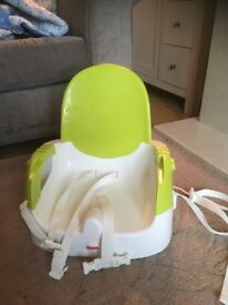Fisher price feeding chair and table