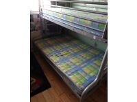 Jay-Be Metal Frame Bunk Bed 3/4 Bottom and Single Top