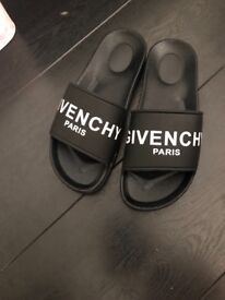 Woman's givenchy sliders