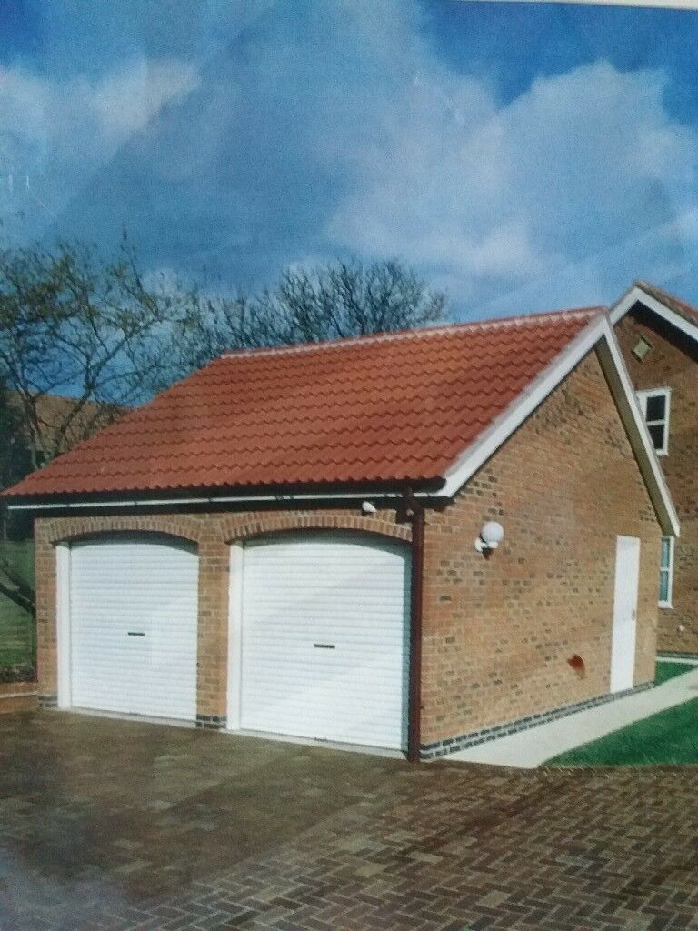 Gliderol Electric White Garage Roller Door In Norwich Norfolk