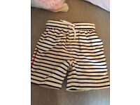 Next boys swim shorts age 2-3 years excellent condition