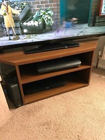 Dark Wood Furniture - TV Stand, Side Table and Low Unit