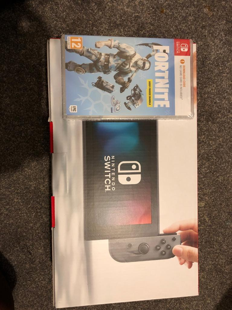Nintendo Switch With Fortnite Bundle Brand New In Wimbledon