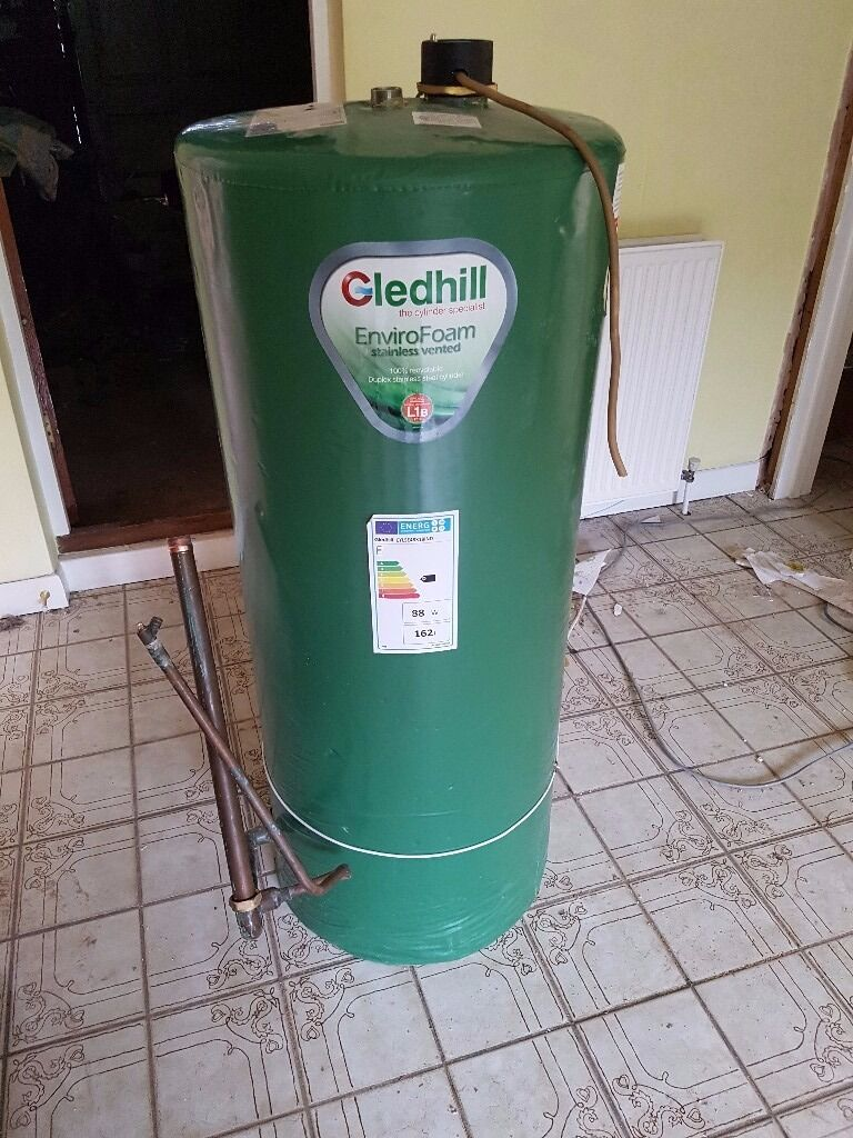 Gledhill EnviroFoam Indirect Stainless Vented Water Cylinder ...