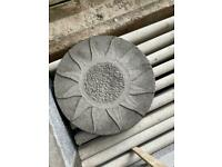 🌻 ROUND SUNFLOWER PAVING SLABS / STEPPING STONES > NEW