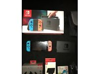 nintendo switch like brand new MUST READ !!!!!!!! LOTS GAMES AND ACCESSORIES