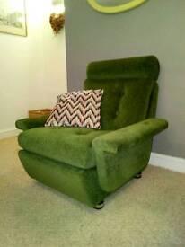 Gorgeous Retro Parker Knoll Armchair