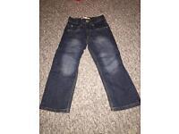 Boys Levi's Jeans 5 Reg Age 4-5