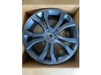 "Genuine Range Rover! Brand New! 22"" Forged 5 Sp bc lit Spoke Alloy wheels- Technical Grey x 4"
