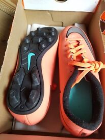 Genuine nike football boots