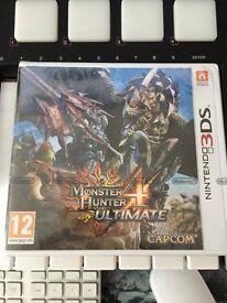monster hunter games 3 4 ultimate