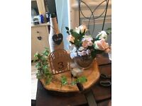 Rustic wedding centerpeices