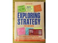 Exploring Strategy text and cases Textbook by Johnson et al.