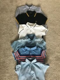 Boys clothes Age 4-5 next Fred Perry Ralph Lauren