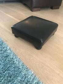 Brown foot stool small