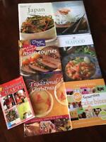 Cooking, baking & Christmas crafts book lot