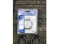 NEW Marley Bathroom Extractor Fan With Timer 100mm NDX100T White