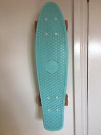 Penny Board Mint Blue and Pastel Pink