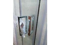 """NEW 900mm Quadrant shower enclosure: The Bath Store """"Benchmark"""": Ex display bargain! Only £280"""