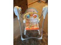 Fisher price rainforest 3-1 swing and rocker